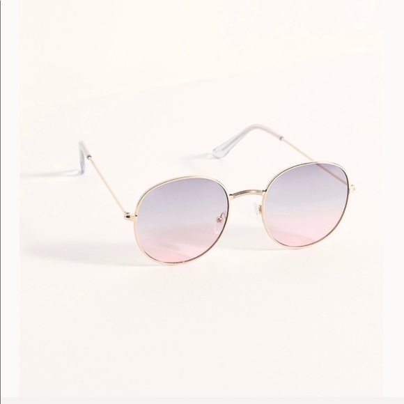 Free people palmetto round sunglasses